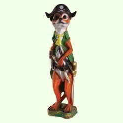 Садовая скульптура Суслик пират