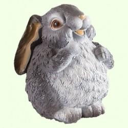 Садовая скульптура Толстый заяц
