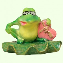 Садовая скульптура Влюбленный жаб