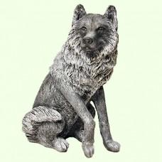 Садовая скульптура Волк