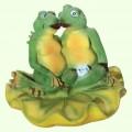 Садовая скульптура Жабы целующиеся