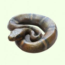 Садовая скульптура Змея
