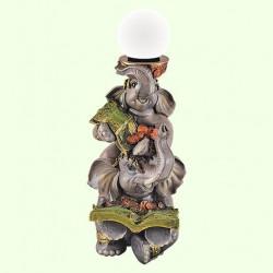 Декоративный светильник Денежные слоны
