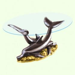 Журнальный столик Дельфины